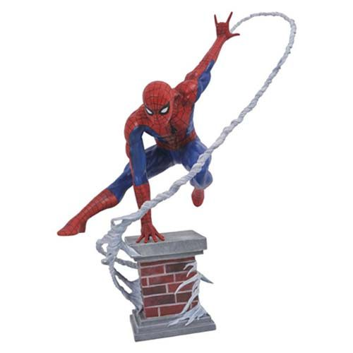 estatua marvel spiderman 30 cm