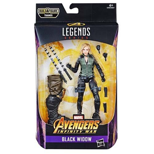 figura black widow marvel legends