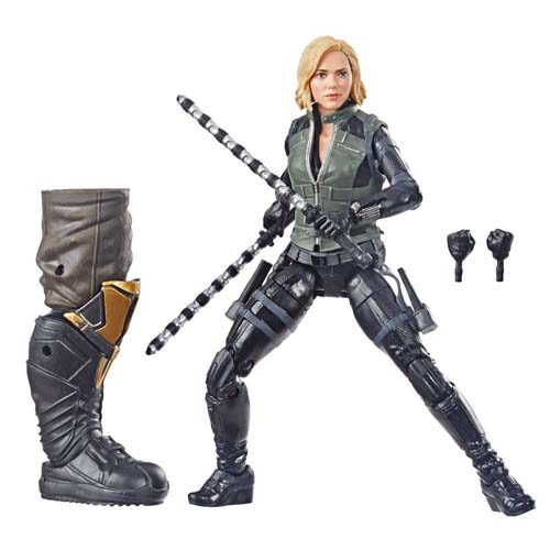 figura black widow marvel 15 cm