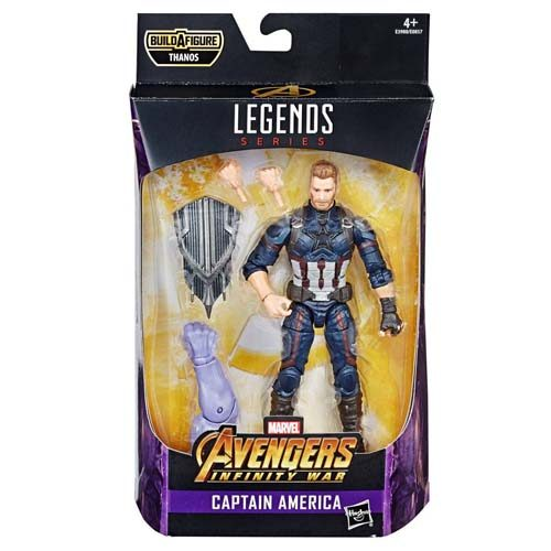 figura capitan america marvel legends 15 cm