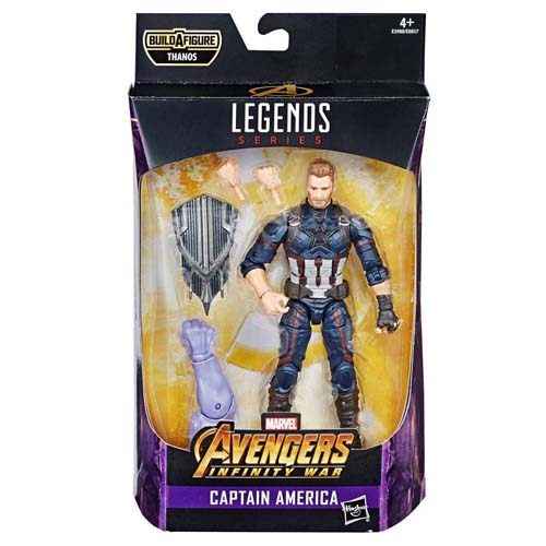 figura capitan america marvel legends 15 cm