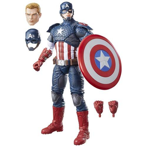 figura capitán américa marvel