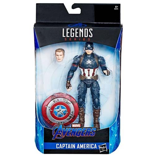 figura capitan américa marvel legends