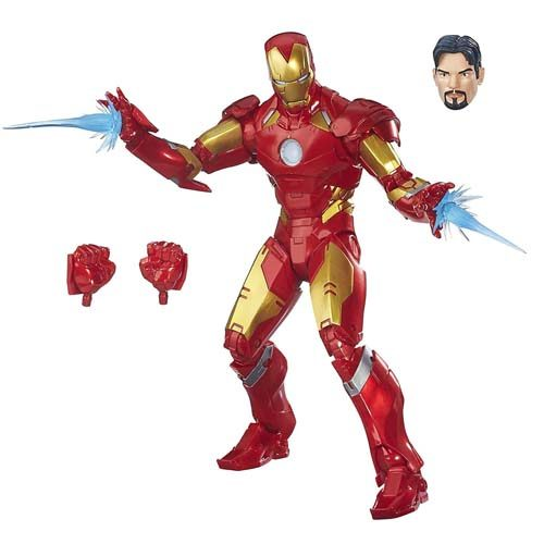 figura iron man marvel legends