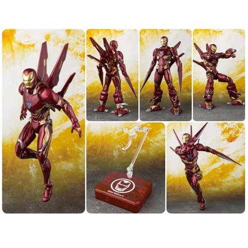 figura iron man sh figuarts