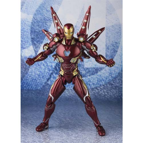 figura iron man nano weapon avengers end game