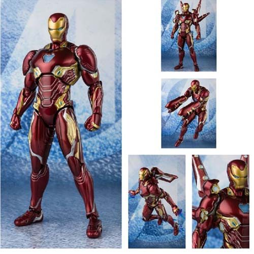 figura iron man sh figuarts avengers end game