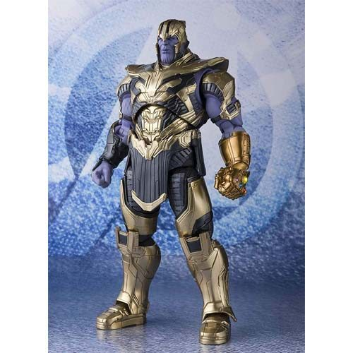 figura thanos avengers end game sh figuarts