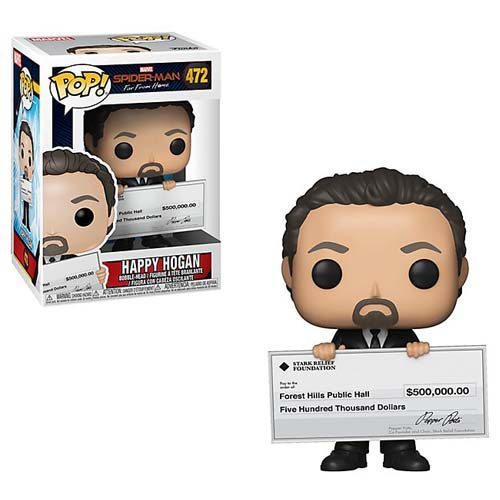 funko pop happy hogan spiderman
