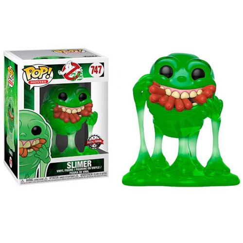 funko pop slimer and hot dogs