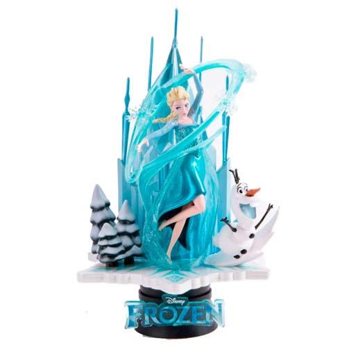diorama elsa y olaf frozen