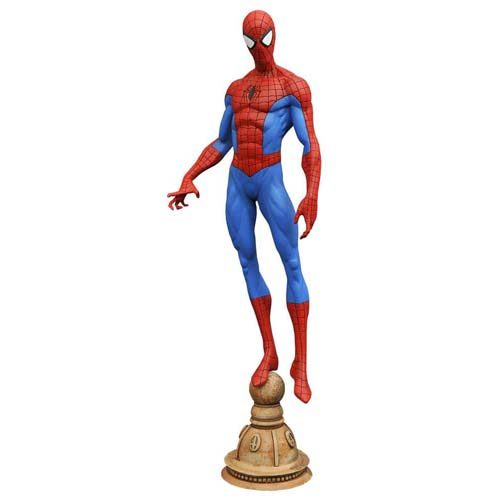 estatua spiderman marvel 23 cm