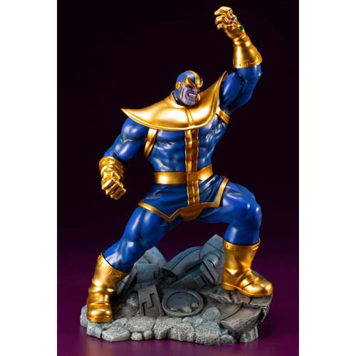 estatua thanos marvel 28 cm