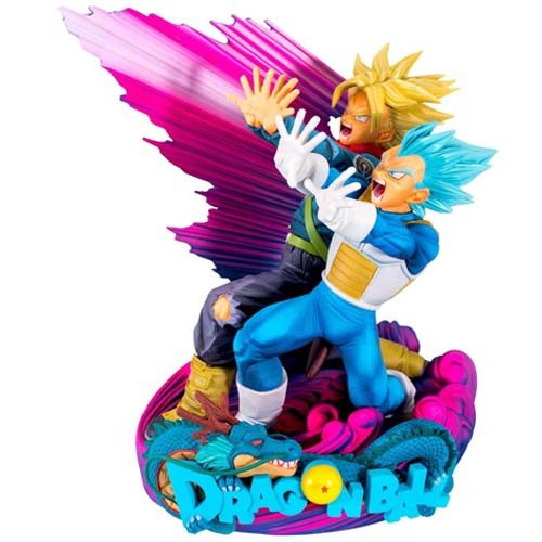 figura vegeta y trunks diorama