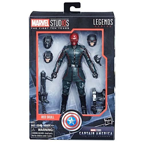 figura red skull marvel legends