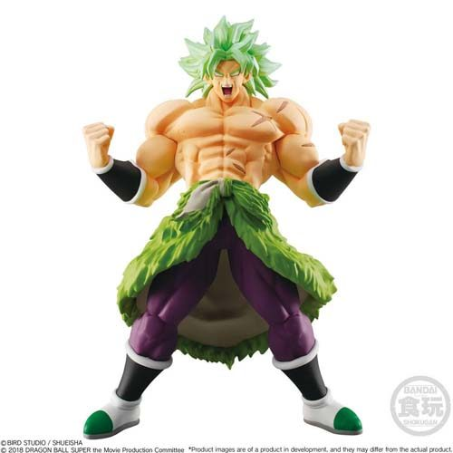figura super saiyan broly dragon ball super