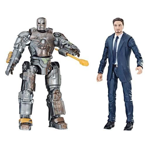pack 2 figuras marvel legends iron man