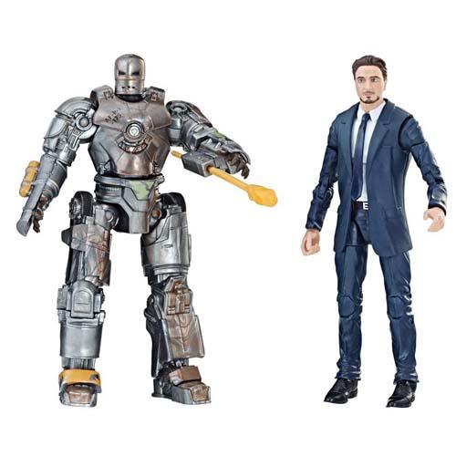 pack 2 figuras marvel legends iron man