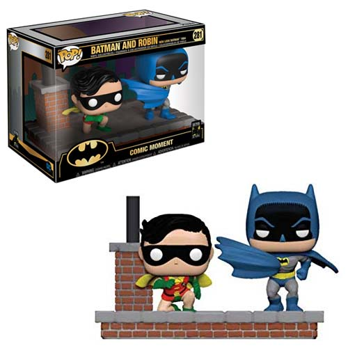 pack funko pop batman & robin batman 80th