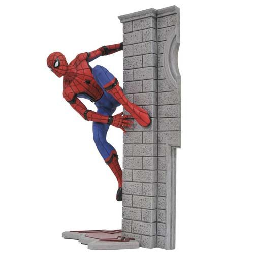 estatua spiderman homecoming 25 cm