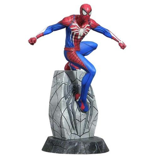 estatua spiderman video game marvel 25 cm