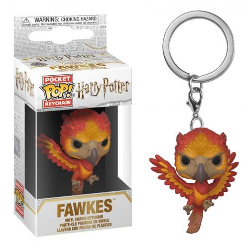 llavero funko pop fawkes harry potter
