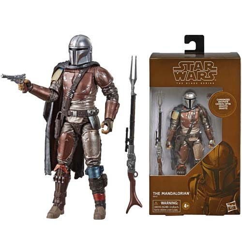 figura the mandalorian black series star wars hasbro