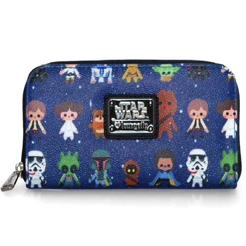 cartera monedero star wars chibi loungefly