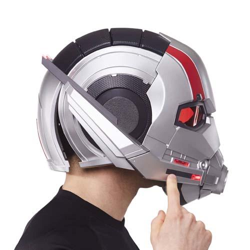 casco electrónico ant man marvel legends