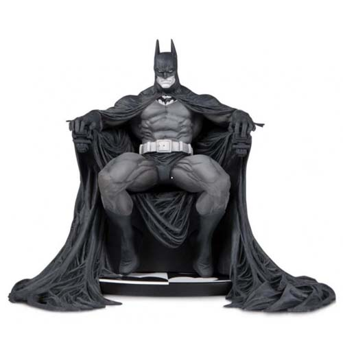 estatua batman black and white marc silvestri