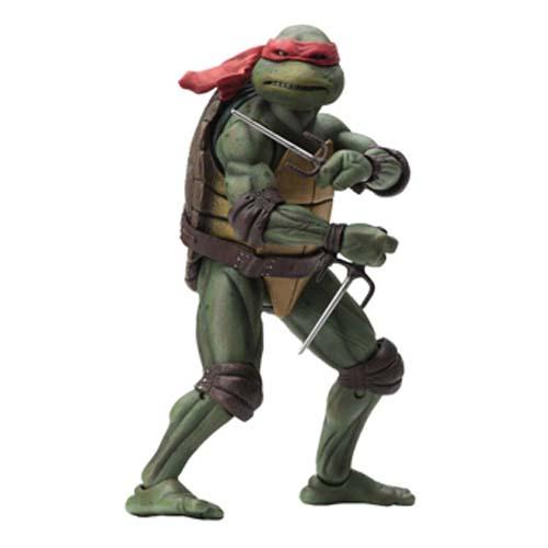 figura raphael tortugas ninja 18 cm neca