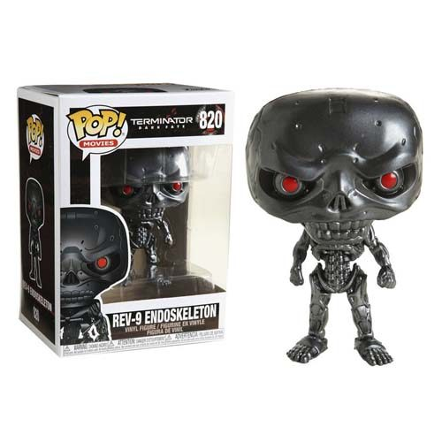 funko pop terminator dark fate rev - 9 endoskeleton