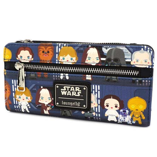 cartera tarjetero star wars chibi