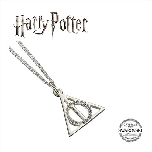 collar swarovski reliquias de la muerte harry potter