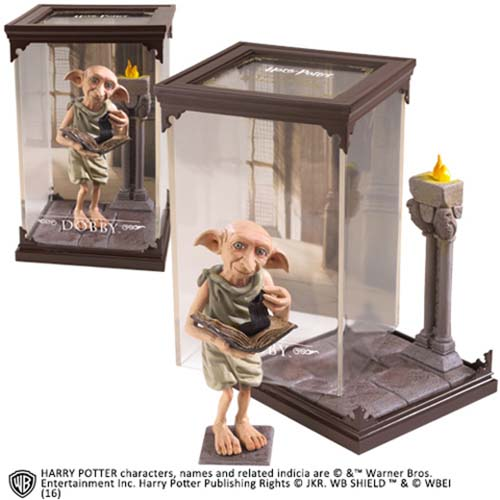 estatua dobby harry potter 18 cm