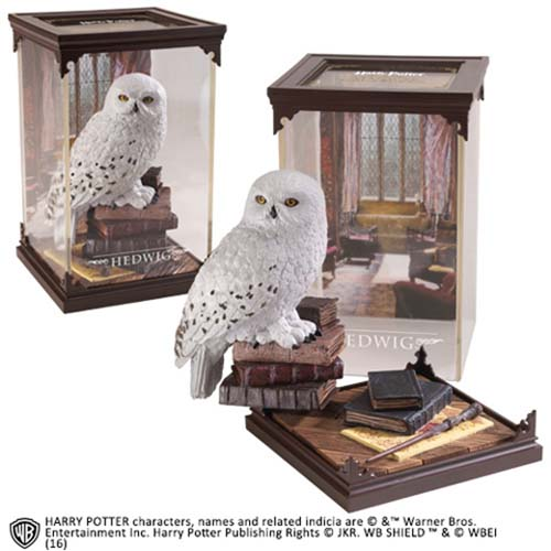estatua hedwig harry potter 18 cm