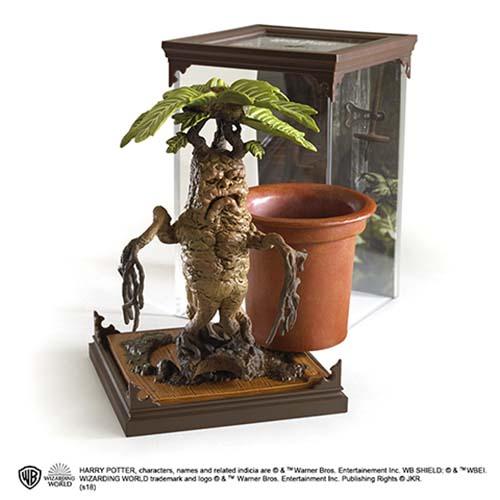 estatua madragora harry potter 13 cm