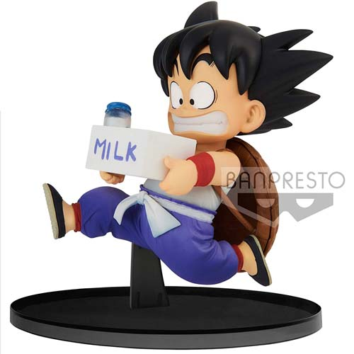 figura goku niño milk dragon ball 11 cm