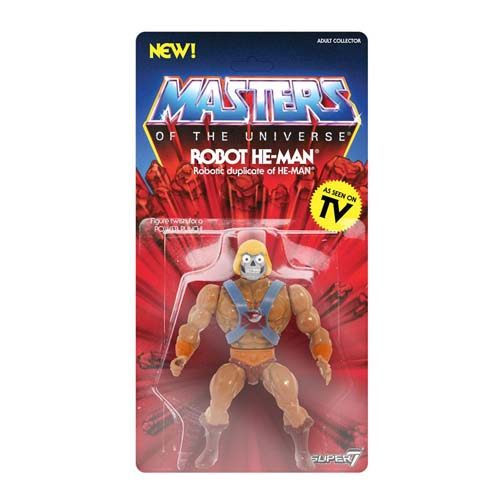 figura robot he-man vintage collection masters del universo