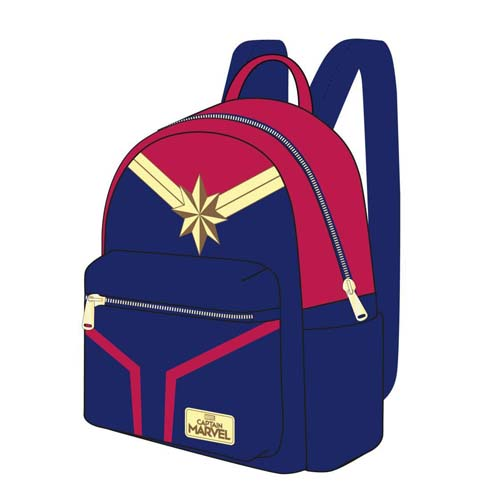 mochila capitana marvel casual fashion marvel