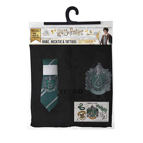 pack disfraz slytherin harry potter