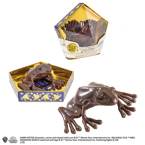 réplica rana de chocolate versión 2 harry potter