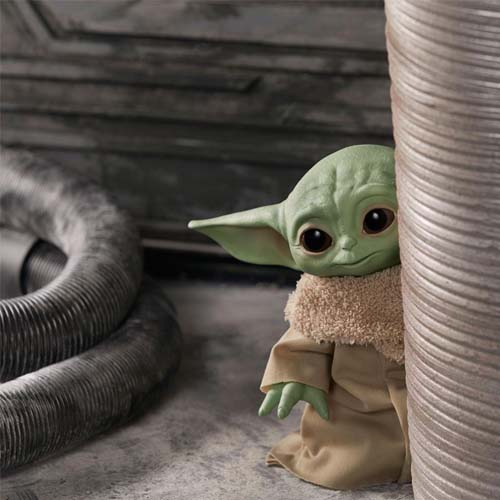 peluche parlante the child star wars