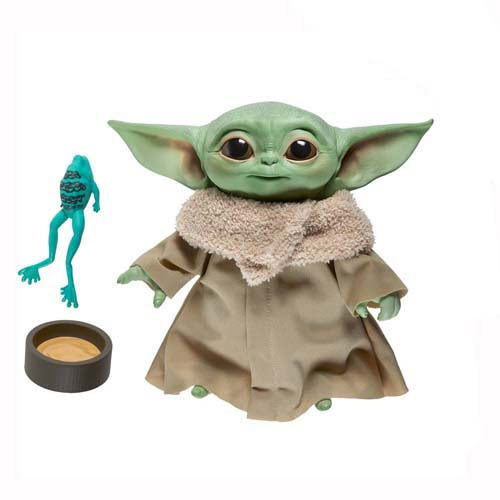 peluche parlante the child baby yoda 19 cm hasbro star wars