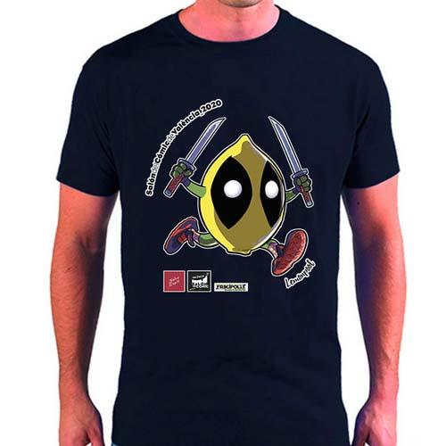 camiseta lemonpool salva espin salon del comic de valencia