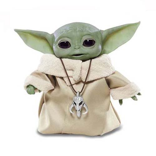 figura electrónica the child mandalorian baby yoda