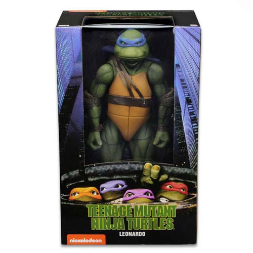 figura leonardo tortugas ninja 42 cm neca