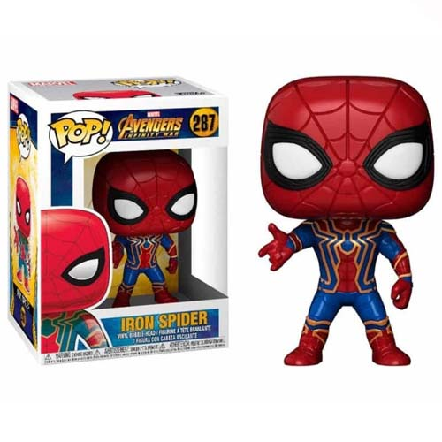funko pop iron spider avengers infinity war marvel