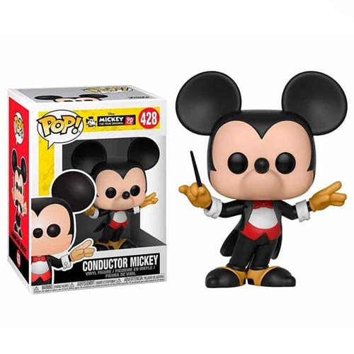 funko pop conductor mickey mouse disney