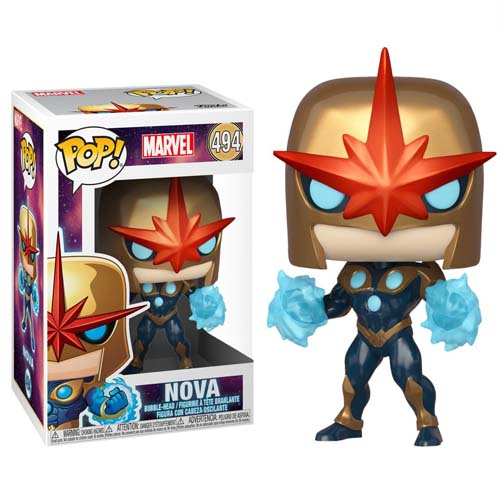 funko pop nova special edition marvel